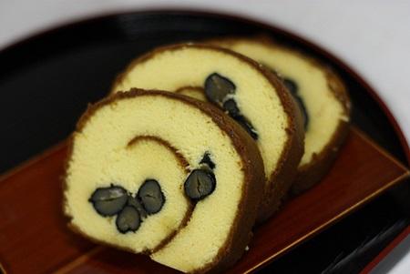 母の日 鉢植えセット「京都・伏見三源庵 黒豆ロールカステラ