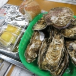 八景島の期間限定の牡蠣小屋で牡蠣を楽しんできた