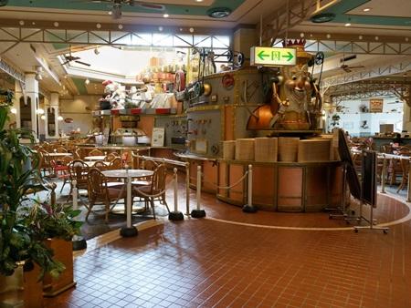 サンリオピューロランドのフードマシンレストラン
