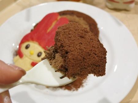 マイメロディの森のチョコロールケーキ