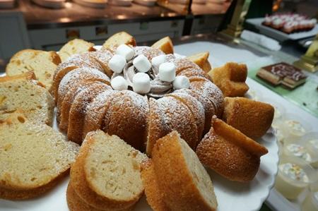 ディズニーランド クリスタルパレスレストラン パウンドケーキ