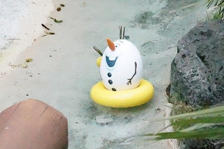 オラフのキャラクターエッグ:イースター2015  エッグハント(東京ディズニーランド)