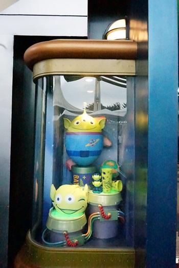 リトルグリーンメンのキャラクターエッグ:イースター2015  エッグハント(東京ディズニーランド)