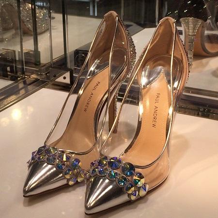 ポール・アンドリュー(Paul Andrew)がデザインしたシンデレラの靴