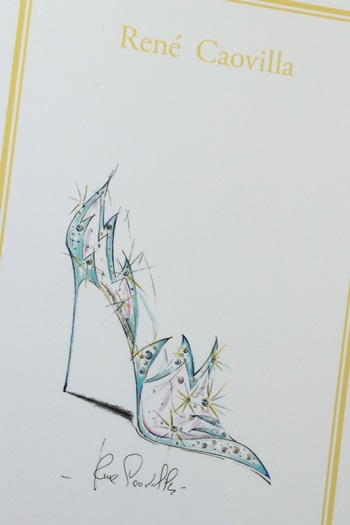 レネ・カオヴィラ(Rene Caovilla)がデザインしたシンデレラの靴
