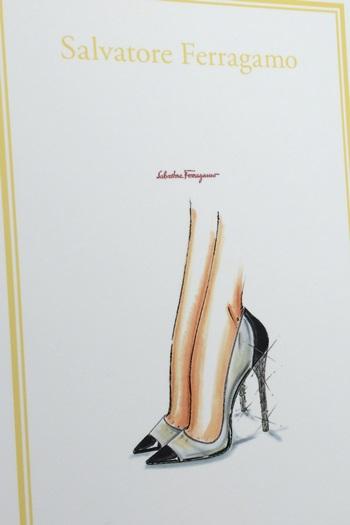 サルヴァトーレ・フェラガモ(Salvatore Ferragamo)がデザインしたシンデレラの靴