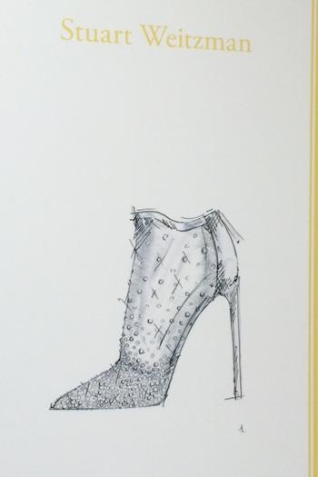 スチュアート・ワイツマン(Stuart Weitzman)がデザインしたシンデレラの靴