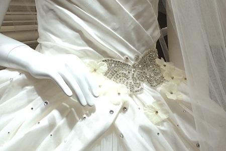 コッティー・ロウのシンデレラをイメージしたドレス