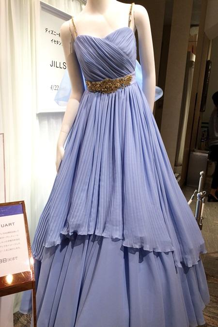 シンデレラ×ジルスチュアートのドレス