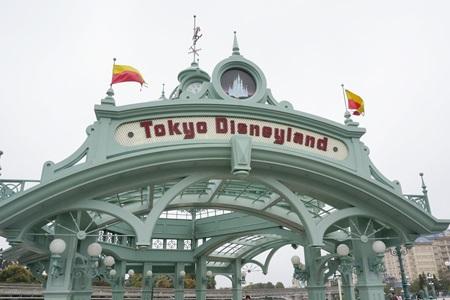 東京ディズニーランドへ