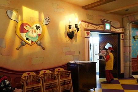 東京ディズニーランド クイーンオブハートの店内