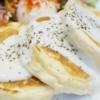 サーモン&エッグパンケーキ 銀座のジンジャー