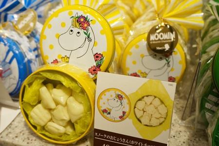 ムーミンチョコレート缶