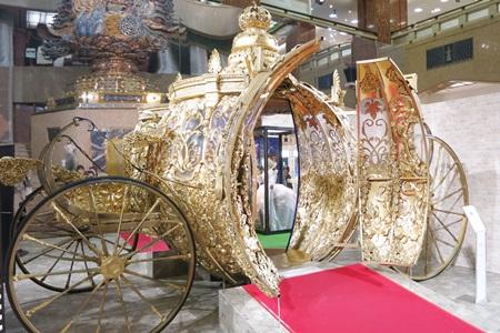 シンデレラエキシビジョン 馬車
