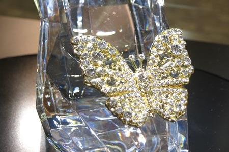 シンデレラエキシビジョン ガラスの靴のレプリカ