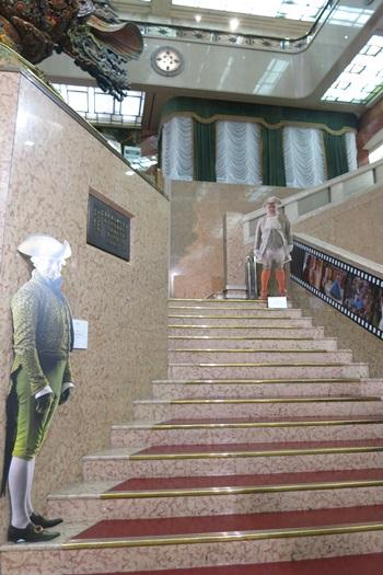 シンデレラエキシビジョンの階段