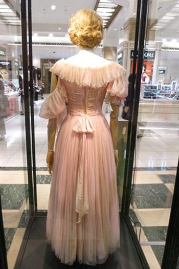 シンデレラの実母のドレス