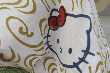 ハローキティ 40周年記念 竺仙の浴衣