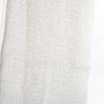 帝国繊維リネン100%のストールで首の日焼け対策