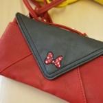 ディズニープリンセスのバイカラー2WAYお財布バッグ