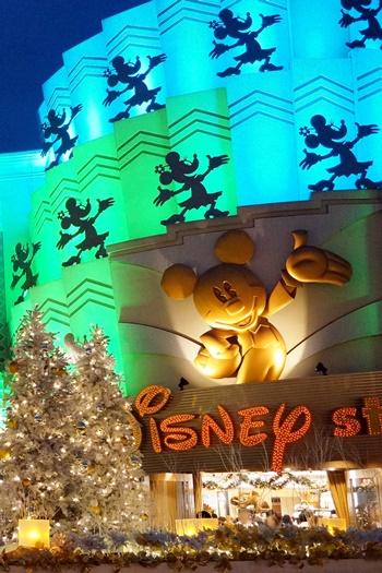 イクスピアリ ディズニーストアのクリスマス2015