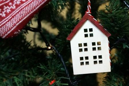 イイハナ クリスマスツリーセット「ノルディック・クリスマス」150cm(LEDライト付き)