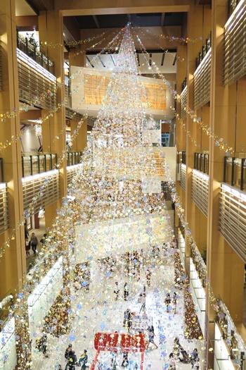 2015年東京ミッドタウンクリスマスイルミネーション ダイヤモンドダスト