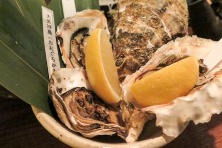 牡蛎 魚バカ一代 日本橋店