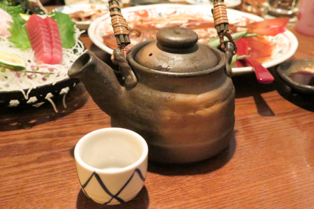 牡蛎酒 魚バカ一代 日本橋店