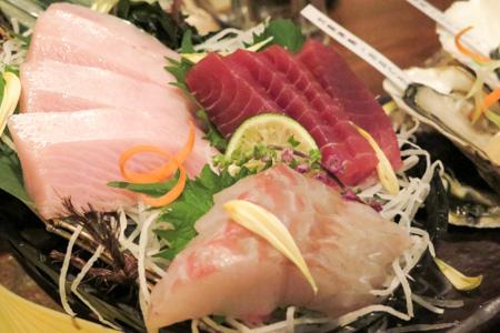 豪華!魚バカ一代盛り  魚バカ一代 日本橋店