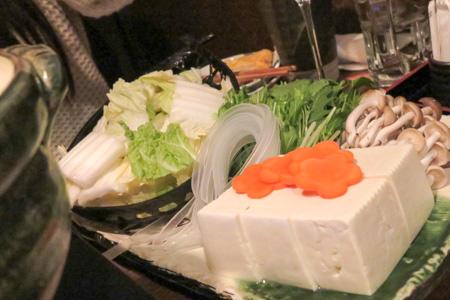 牡蛎のしゃぶしゃぶ  魚バカ一代 日本橋店