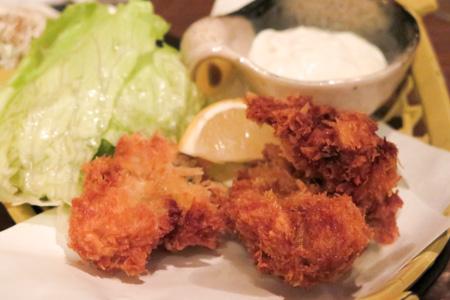 牡蛎フライ  魚バカ一代 日本橋店
