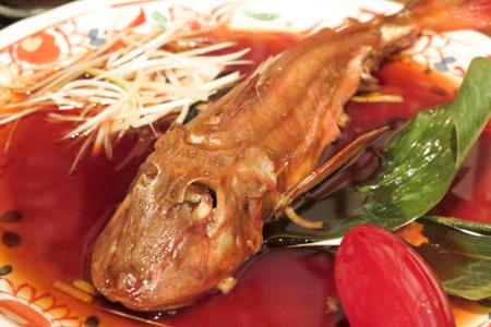 本日の煮魚(ほうぼう)  魚バカ一代 日本橋店