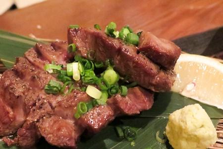 厚切り牛タン焼き  魚バカ一代 日本橋店