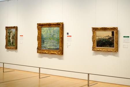 ポーラ美術館 モネ 睡蓮の池