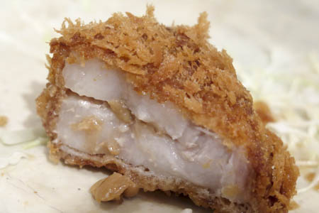 茨城マルシェ ローズポークの納豆とんかつ