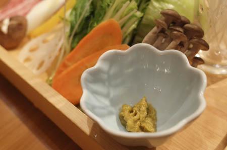 茨城マルシェ 茨城野菜とローズポークのしゃぶしゃぶ