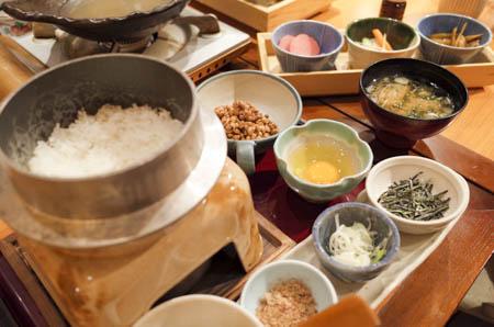 茨城マルシェ 釜炊きごはんセット