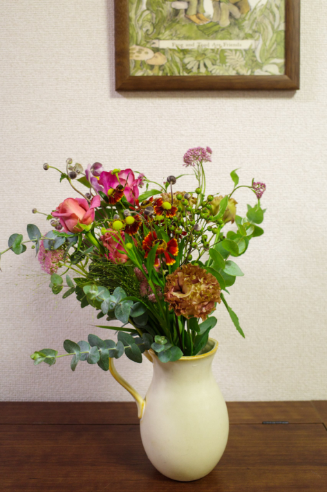 お花の定期便2021年9月